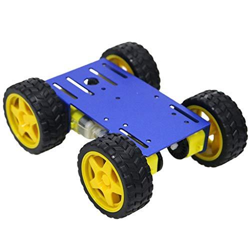 gazechimp Robot Inteligente Chasis de Coche Smart Robot Car Kit de Concursos y Proyecto de Robots de Bricolaje - Bue