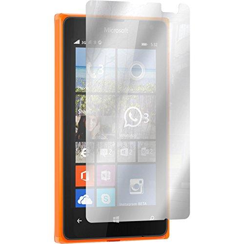PhoneNatic 6er-Pack Bildschirmschutzfolien verspiegelt kompatibel mit Microsoft Lumia 532