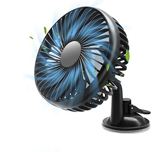WP 3 Stil Auto Kfz Lüfter, Mini Auto Ventilator Gebläse Klimaanlage 360 Grad Drehung Einstellbares Kein Lärm USB-Autolüfter Mit DREI Geschwindigkeitsreglern