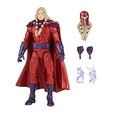 Hasbro Marvel Legends Series 6-inch Scale Action Figure Toy Magneto, Premium Design, 1 Figure, and 5 Accessories