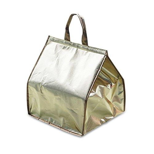 Oumosi argento isolato picnic campeggio borsa termica pranzo termica borse per mantenere il pranzo caldo, As the Picture, 10