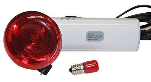 Infrared Heating Device and Now Stronger New 10W Bulb with Extra Replacement Bulb Included by Personal Care Plus