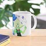 Lapidot Steven Universe Su Lapis Lazuli Peridot Fanart Best 11 Ounce Ceramic Coffee Mug Gift