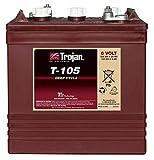 Desconocido Baterias Monoblock Trojan T105 6V 250ah Solar Panel Battery 250AH