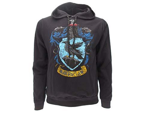 Harry Potter trui met capuchon hoodie sweatshirt Ravenclaw huiswapens - 100% Officieel Warner Bros