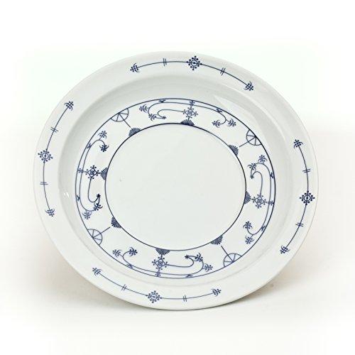 Ocean-Line Untertasse Indisch Blau/Strohblume ca.15cm Porzellan