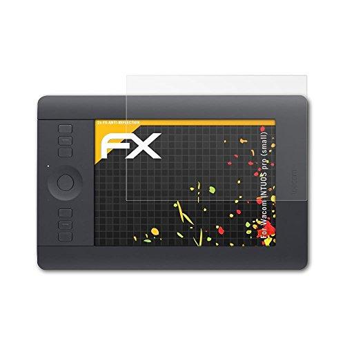 Preisvergleich Produktbild atFolix Panzerfolie kompatibel mit Wacom INTUOS pro (small) Schutzfolie,  entspiegelnde und stoßdämpfende FX Folie (2X)