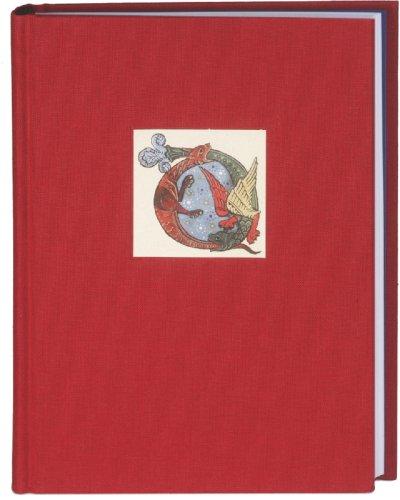 Das bibliophile Notizbuch: Rubinrot