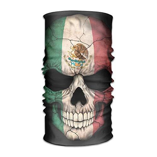 Babydo Mexikanische Flagge männer und Frauen Kopfschmuck elastischer schal Kopfschmuck floral Style Twist Stricken Haarband 25x50 cm