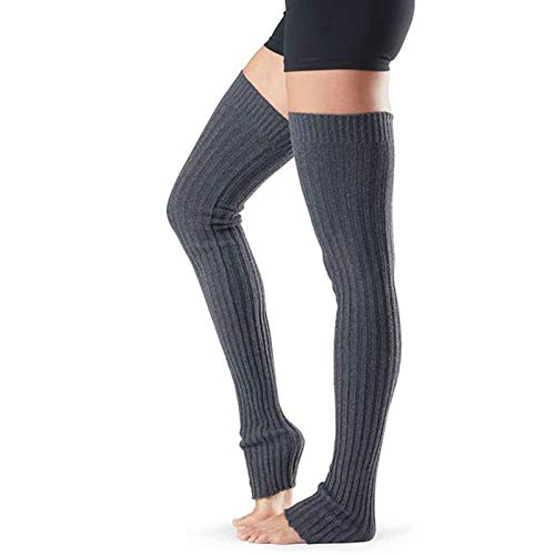 MUMEOMU Stulpen Damen Beinwärmer Lange Gestrickt Legwarmers Grobstrickstulpen Winter Beinstulpen Basic Leg Warmer Gestrickte Overknee Strumpf für Ballett Fitness Yoga