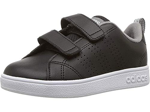adidas Kids' VS Advantage Clean, Core Black/Core Black/Grey Three, 3 M US Toddler