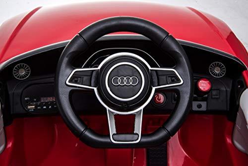 RC Auto kaufen Kinderauto Bild 2: Toyas Lizenz Audi TT RS Kinder Elektrofahrzeug Kinderfahrzeug Kinderauto Elektroauto 2X 30W Motor Rot*