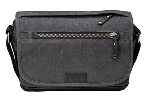 Tenba 637-401 Kameratasche/-Koffer Schultertasche Grau - Kamerataschen/-Koffer (Schultertasche, Universal, Schultergurt, Notebook-Gehäuse, Grau)