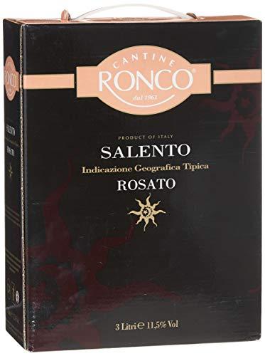 Cantine Ronco Salento rosato IGT trocken Bag-in-Box (1 x 3 l)