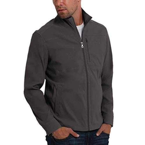 Orvis Mens Lightweight Stretch Jacket (Charcoal, Medium)
