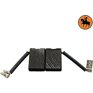 Escobillas de Carbón para BLACK & DECKER P5921 amoladora — 6,3x16x23mm — 2.4×6.3×9.1»