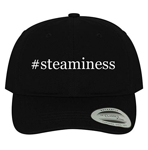BH Cool Designs #Steaminess - Men's Soft & Comfortable Dad Baseball Hat Cap, Black, One Size