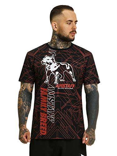 Amstaff Camonet Männer T-Shirt - schwarz M
