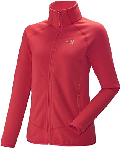 MILLET - Sweat Polaire LD Charmoz Power Hibiscus Femme - Femme - Taille XL - Rouge