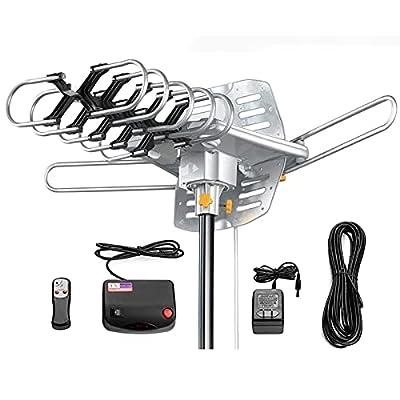 Amazon - 50% Off on Amplified Digital Outdoor Antenna, HD Digital HDTV Antenna