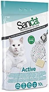 Sanicat Active Ultra Clumping Cat Litter, 8.73 kg