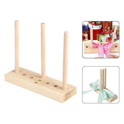 MANGGUO Bogenmacher für Band, Holzkranz Bogenmacher-Werkzeug zum Erstellen von Geschenkbögen, Partydekorationen, Haarschleifen, Corsagen, Weihnachtskränzen