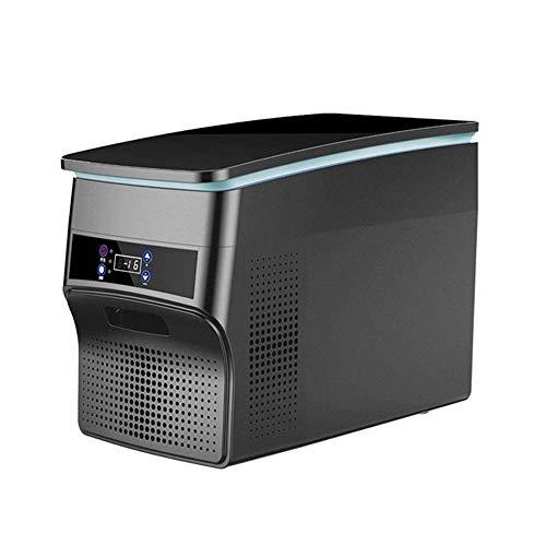 Elektrische koelbox DC/AC-adapter verwarmer & koeler draagbare compressor koelkast vrieskast 28/38 liter koelkast aangedreven ideaal voor camping caravan Car Van Truck (kleur: zwart, maat