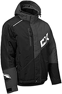 Castle X Phase G2 Men's Snowmobile Jacket - Gray/Black (2XL)