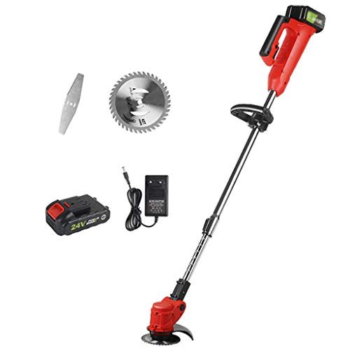 Why Choose Zzmop Cordless Grass Trimmer with Battery, Charger & 1 x Stainless Steel Hacksaw – 180Â...