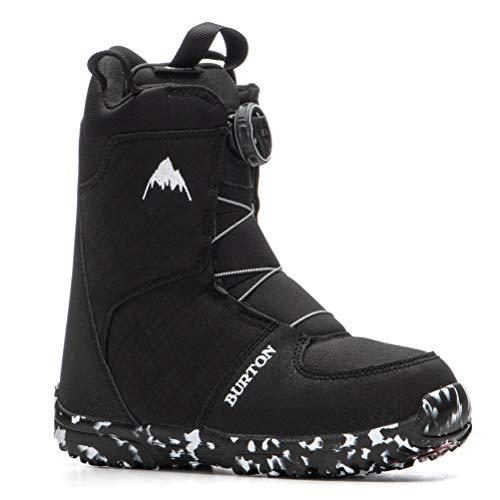 Burton Grom BOA Snowboard Boots Kid's Sz 3K Black