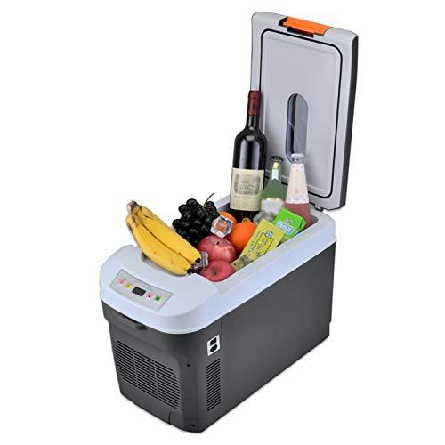 MNCYGJ Mini Nevera para Bebidas Ruidable 25L Minibar Refrigerador 12V / 220V Refrigerador De Automóvil De Doble Uso, Se Puede Calentar Y Enfriarse En Casas, Coches