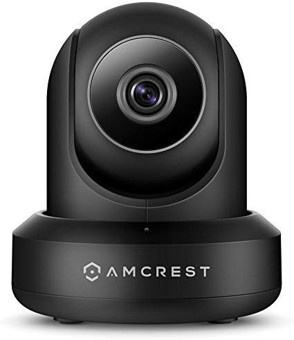 Amcrest ProHD 1080P POE IP Camera with Pan/Tilt, Two-Way Audio, Optional...