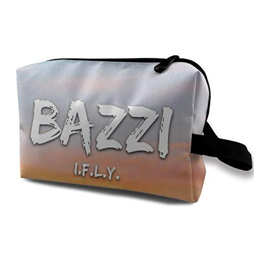 Hdadwy Bazzi - I.F.L.Y. Cosmetic Bag, Portable Cosmetic Bag, Large Capacity Cosmetic Bag, Travel Cosmetic Bag, Women's Cosmetic Bag