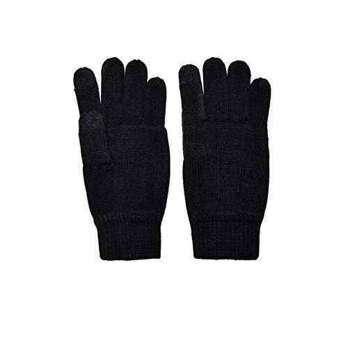 Only & Sons Herren-Handschuhe, Schwarz, Schwarz One size