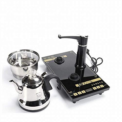 1yess Edelstahlautomatische Wasser Elektromagnetische Kaffeeofen Home Intelligente Desinfektion Touch Fast NACE Water Teekanne, Schwarz, 1