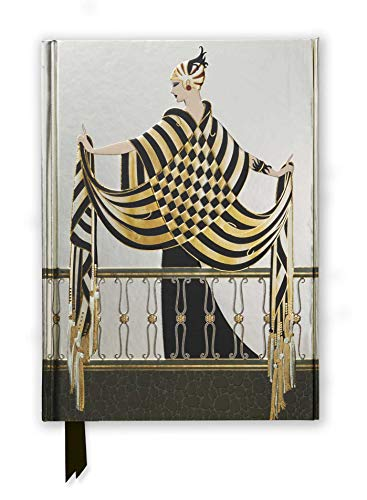 Erté: The Balcony (Foiled Journal): 47 (Flame Tree Notebooks)