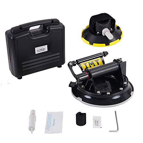 IMT Fietsenrek voor Auto Dak, Stofzuiger Zuignap Fietsdrager Quick Release Aluminium Dakdrager, 100 mm