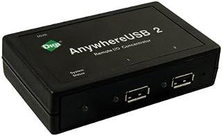 Digi INTERNATIONAL ANYWHEREUSB 2 PORT USB OVER IP HUB