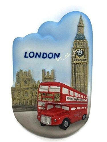 Big Ben, London Souvenir resina 3d imán para nevera Souvenir Tourist regalo 023