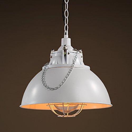 XY&XH Kronleuchter,Die Metall Bar Eisen Lampe Single Head Kaffeekanne Kronleuchter, weiß