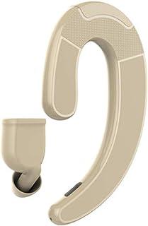 Headphones - Bluetooth Headset - Wireless Sports Bluetooth Headset - Bone Conduction - Sports - Call (Color : Yellow)