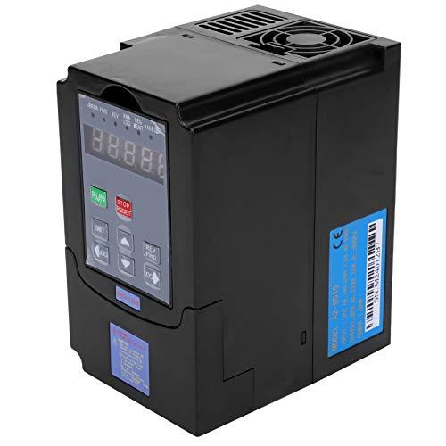 Convertidor de frecuencia Entrada 1/3 fase AC180-250V Salida trifásica 220V 1.5KW Convertidor de frecuencia con instrucciones de uso Accesorios de repuesto Accesorios de repuesto