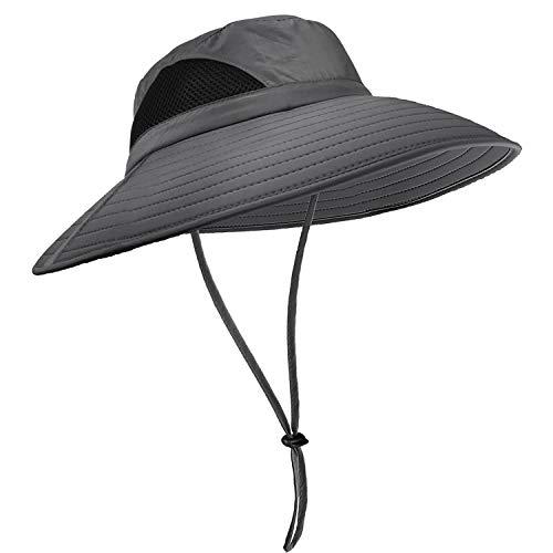 Luxebell Sonnenhut Herren Fischerhut Damen UPF 50+ Neutraler Safarihut Für Draussen Aktivitäten