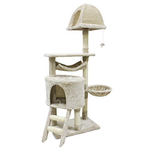 Cat Tree Activity Climber Play House With Scratching Post $45.50 (50% OFF)