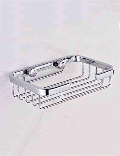 Seifenschalen HAIZHEN Badezimmer-Edelstahl-Seifen-Netto-Toiletten-Seifen-Netz-Edelstahl-Seifen-Kasten-Seifen-Halter Bad Zubehör