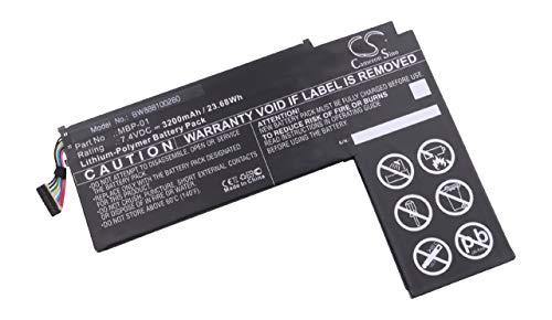 vhbw Batteria Compatibile con ASUS Transformer AiO P1801, P1801-B037K Tablet (3200mAh, 7,4V, Li-Poly)