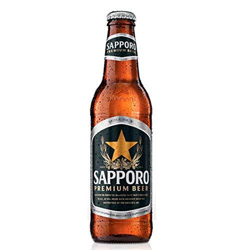 Cerveza japonesa SAPPORO - Caja 9 unidades x 33cl
