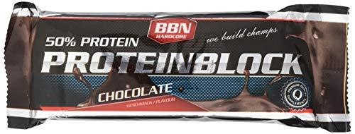 Best Body Nutrition - Hardcore Protein Block 1 x 90g Riegel Schoko (2er Pack)