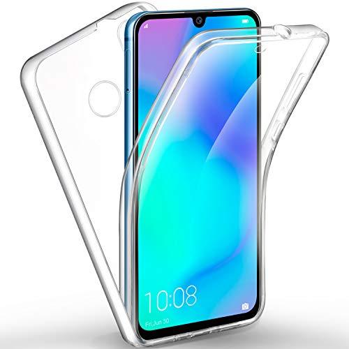 AROYI Huawei P30 Lite Hülle 360 Grad Handyhülle, Silikon Crystal Full Schutz Cover [2in1 Separat Hart PC Zurück + Weich TPU Vorderseite] Vorne & Hinten Schutzhülle für Huawei P30 Lite