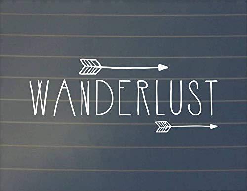 'Wanderlust' Coche de Comercio Exterior de PVC tallado ventana hueco Parabrisas trasero, 2 hojas